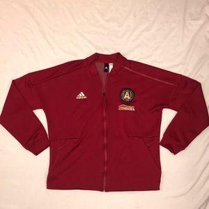 Adidas Atlanta United Full-Zip Warmup Jacket